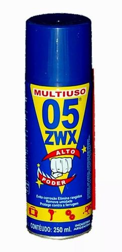 aceite aerosol lubricante desoxidante 05 x  250 cc t/ wd40
