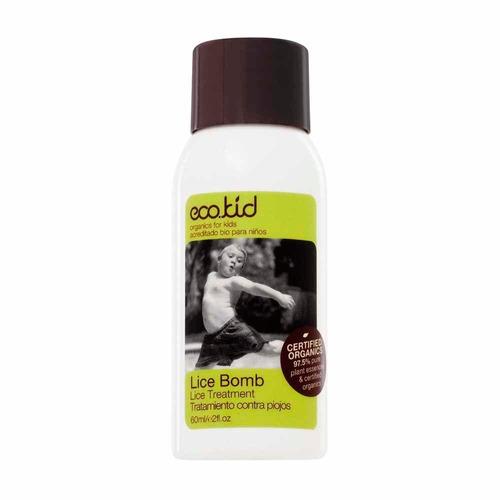 aceite anti-piojos lice bomb (60ml) ecokid