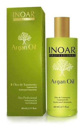 aceite argan oil 60 ml - inoar