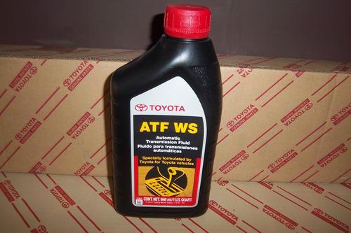 aceite atf ws para cajas automaticas toyota