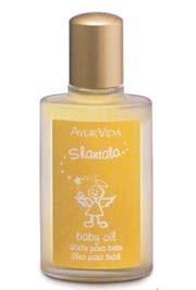 aceite bebe para masajes shantala con lavanda y tilo deva´s