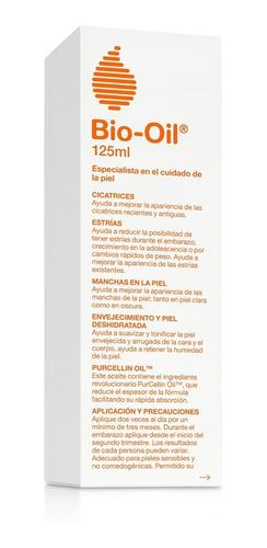 aceite bio-oil cicatrices estrias manchas en la piel x 125ml