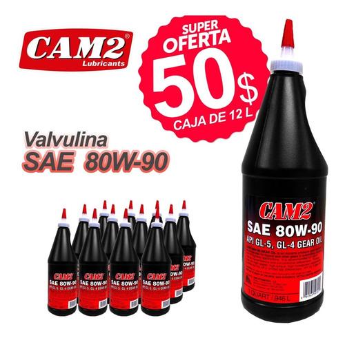 aceite caja sincrónica 80w90 valvulina. tienda física