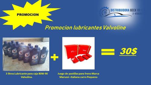 aceite cajas sincrònicas y diferenciales 80w-90 valvoline