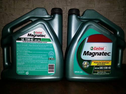 aceite castrol semisintetico 15w40 galon 3.785 litros
