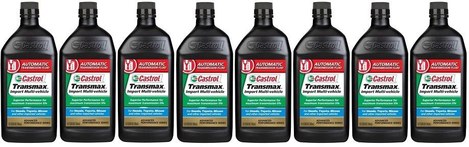 Aceite Castrol Transmision Honda Toyota 8 Botellas / 946ml