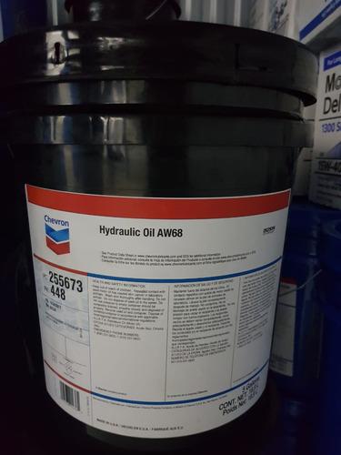 aceite chevron aw-68 cubeta (pail)