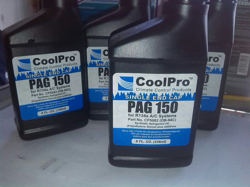 aceite coolpro pag 150 8 oz para compresores full synthetic