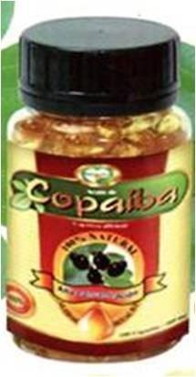 aceite copaiba  encapsulado 100% natural