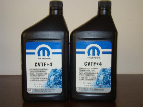 aceite cvtf+4 original mopar