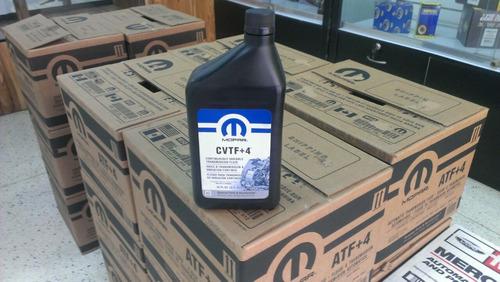 aceite cvtf+4 original mopar caliber somos tienda