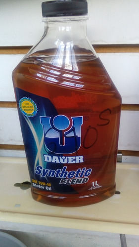 aceite dauer 20w50 y 15w40 semi sintetico $6