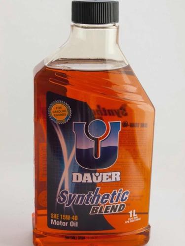 aceite dauer semisintetico 15w40 y 20w50