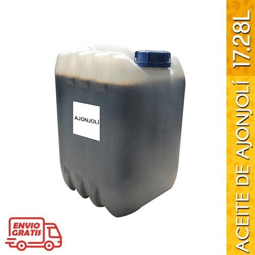 aceite de ajonjolí tostado 17.28 litros