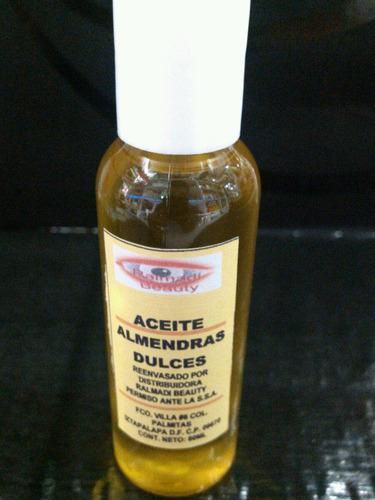 aceite de almendra