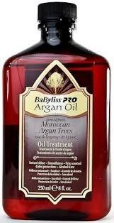 aceite de argán babyliss pro oil 8.4oz 250ml original 00104