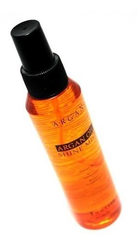 aceite de argan fidelite shine mist oil brillo instantaneo