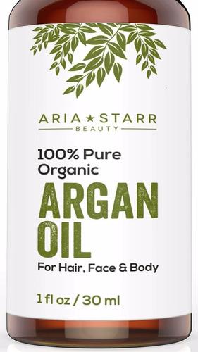 aceite de argan, gotero 30ml,100% organico