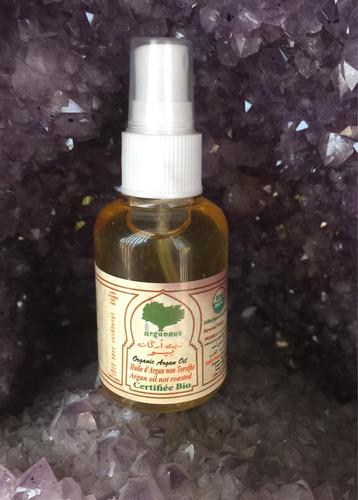 aceite de argán. hecho en marruecos, grado cosmético