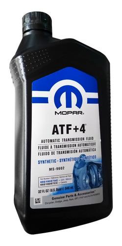 aceite de caja automatica atf + 4 mopar jeep grand cherokee