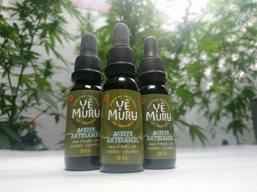 aceite de cannabis medicinal sativa - concentración alta