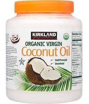 aceite de coco 100% virgen orgánico certificado usa 2.48 lts
