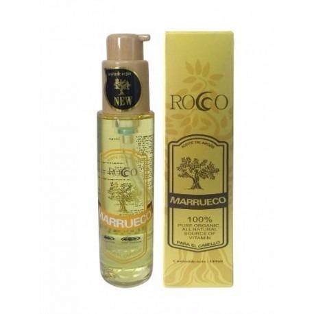 aceite de coco 50ml + argán 100ml rocco