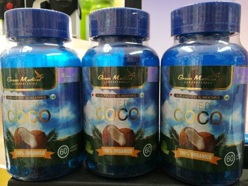 aceite de coco capsulas blandas tratamiento 3 meses