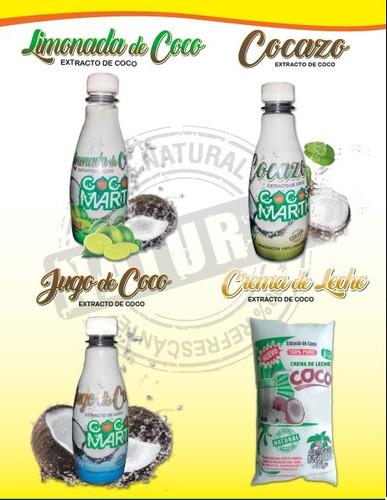 aceite de coco cocos marth sas