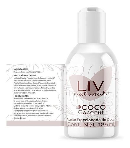 aceite de coco fraccionado liv natural®