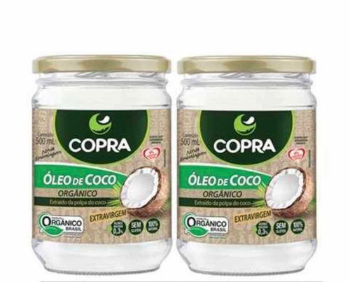 aceite de coco orgánico 1000ml. (2x500ml.) envío sin costo