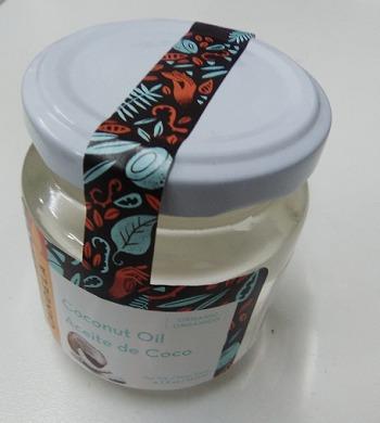 aceite de coco organico 140ml cabello piel cuerpo