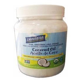 Aceite De Coco Organico Carringt - Unidad a $109800