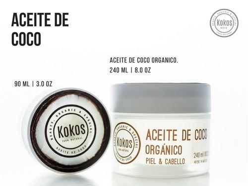 aceite de coco orgánico  / coconut oil
