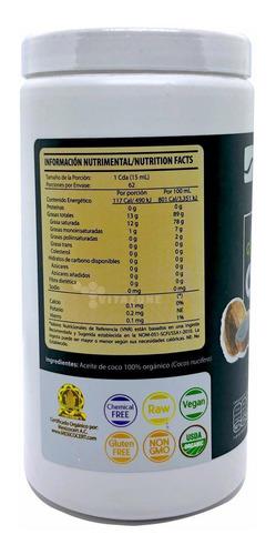 aceite de coco orgánico prensado en frío 930 ml wellthy