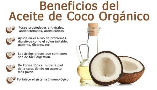 aceite de coco virgen organico 140 ml