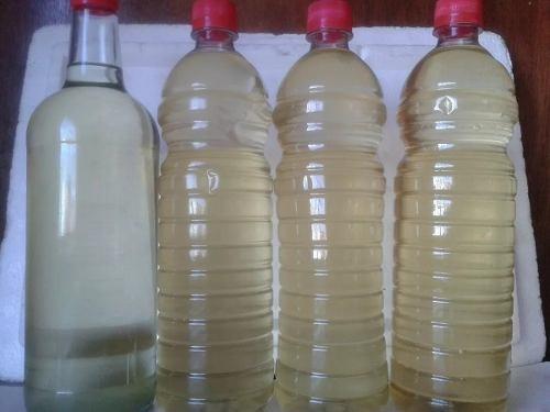 aceite de coco virgen, prensado en frio, 1/2 litro