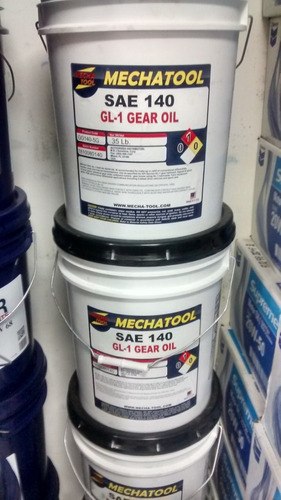 aceite de engranaje valvulina sae 140 y sae 90 mechatool imp
