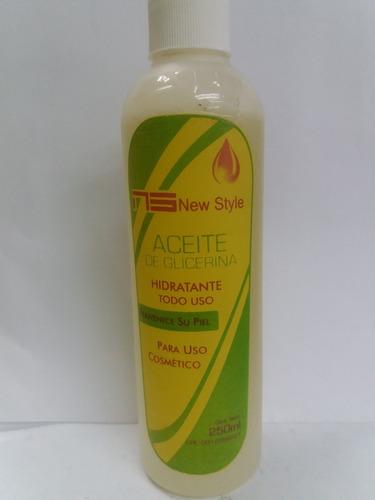 aceite de glicerina new style