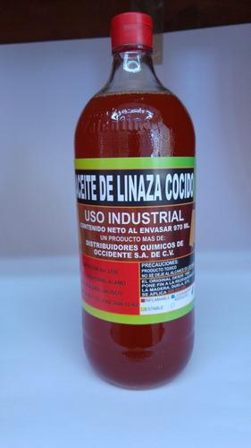aceite de linaza cocido 20 l con envio