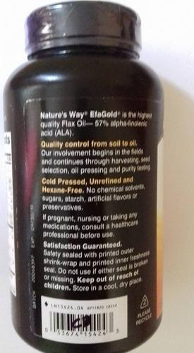 aceite de linaza max fuerza 1.300 mg 100 softgels