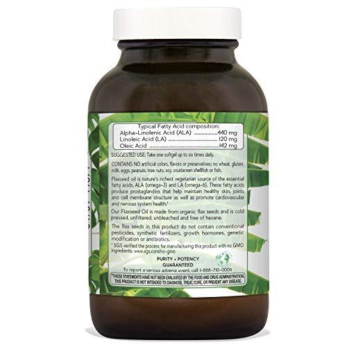 0f355fcc67e Aceite De Linaza Natural Nutra Orgánico