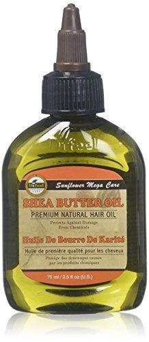aceite de manteca de karité difeel sunflower mega care, 2.5
