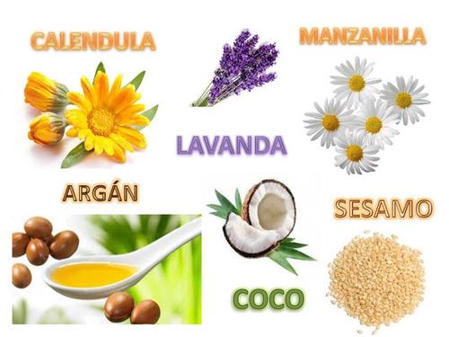 aceite de masaje suavidad de bebe argán - caléndula 130 ml