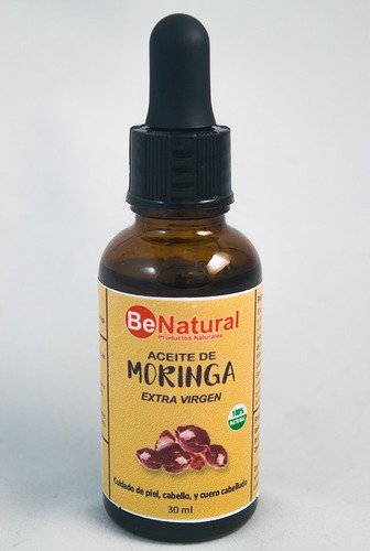aceite de moringa extra virgen 30 ml be natural