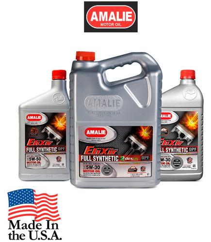 aceite de motor amalie 10w-40 imperial turbo, sn/cf, 1 galon