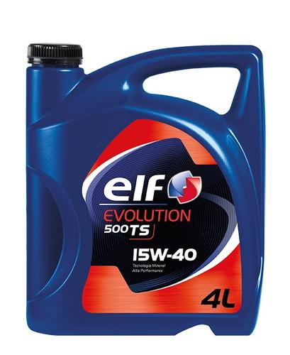 aceite de motor elf evolution 500 diesel 15w-40l 4l