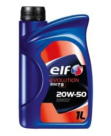 aceite de motor elf evolution 500 ts 20w-50 1l.