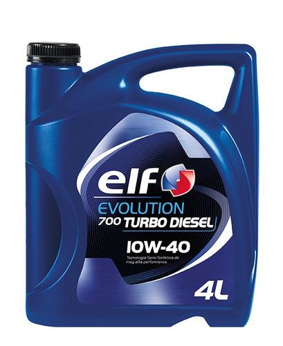 aceite de motor elf evolution 700 diesel 10w-40 4l