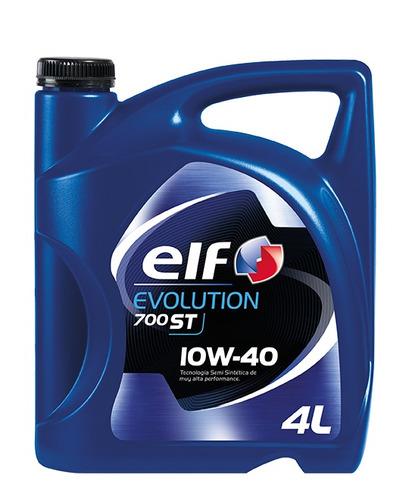 aceite de motor elf evolution 700 st 10w-40 4l